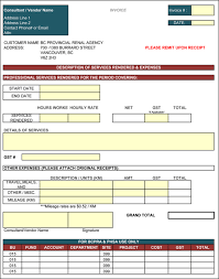 Contractor Invoice Template Excel Contractor Invoice Template 100 Printable Contractor Invoices 2