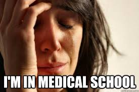 i'm in medical school - First World Problems - quickmeme via Relatably.com