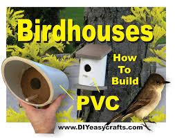 Diy Birdhouse Pvc Birdhouses Super Easy Diy How To Build Youtube