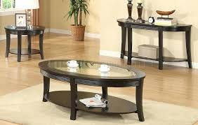 coffee table end table set coffee and end table set modern round grey slate coffee table