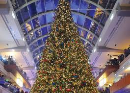 Building the Galleria's Massive Christmas Tree