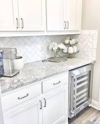 granite countertop ideas for white cabinets. wine fridge, white cabinets, grey counters. granite countertop ideas for cabinets h