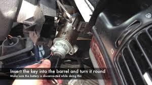 key barrel, stalks, steering wheel and clock spring removal youtube peugeot 406 fuse box diagram download at Peugeot 406 Wiper Wiring Diagram
