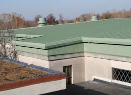 low slope metal roofs