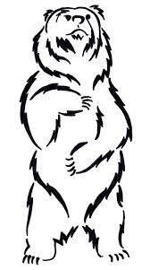 Bear Tattoo 4 By Ksaurusdeviantartcom On At Deviantart вектор