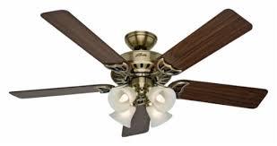 hunter brass ceiling fans. Delighful Fans Hunter  Studio Series 52 On Brass Ceiling Fans