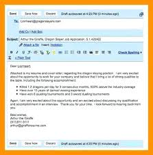 What To Write In An Email When Sending A Resume Email To Send With