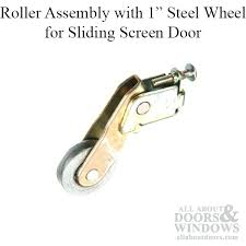 sliding closet door rollers replacement roller assembly with 1 inch steel wheel for sliding screen door sliding closet door rollers