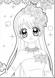 Unbelievable Kawaii Anime Girl Coloring Pages With Kawaii Coloring
