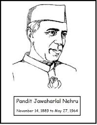 pandit jawaharlal nehru coloring pages of children day pandit jawaharlal nehru coloring pages of children day