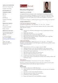 31 Sample Resume For Electrical Engineer Electrical Engineering