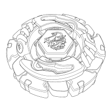 Coloriage Beyblade Toupie Imprimer