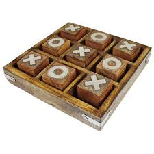 Naughts And Crosses Wooden Game Mesmerizing Handmade Wooden Board Game At Rs 32 Piece Gurgaon Gurgaon ID