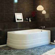 americh bow skirted tub shown installed in bathroom