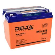 Аккумуляторная <b>батарея Delta DTM</b> 1275 I — купить в интернет ...