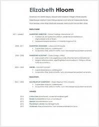 Free Google Resume Templates Mesmerizing Free Minimalist Professional Microsoft Docx And Google Docs Cv With