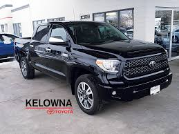 New 2018 Toyota Tundra Platinum 4WD 4 Door Pickup in Kelowna, BC ...