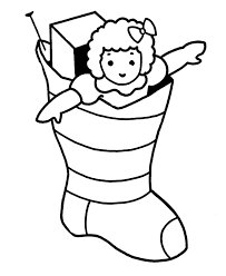 Small Picture Christmas Stocking Coloring Sheet Free Coloring Pages Christmas