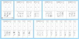 Use these sheets as a fun activity / activities for children to find the initial letters and sounds for phase 5 phonics. I Can Read Phase 2 Words Worksheet Pack Teacher Made
