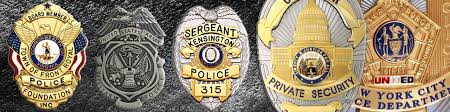custom military police badges maker