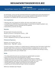 Resume For Pediatrician Resume Resume For Pediatrician