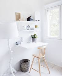 musings blog archive the best spot for your desk your wall small desks for small spaces