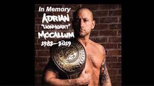 "Adrian ""Lionheart"" McCallum Tribute Video 1982-2019 - YouTube"