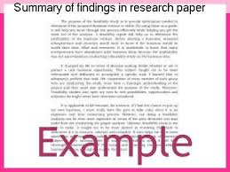 video research paper body paragraphs