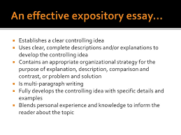 literacy powerpoint <br > 11 an effective expository essay