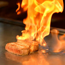 鉄板ステーキ – 柳川 美熊野