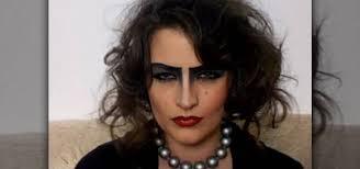 how to apply frank n furter rocky horror costume makeup makeup wonderhowto