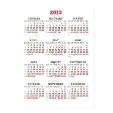 Business Card Size Calendar Template Business Card Size Calendar