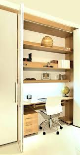 mobel oak hidden home. Hidden Office Desk Home Mobel Oak