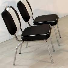 Esstisch Mit Stühlen Grove Im Retro Look Schwarz Weiß Gestreift