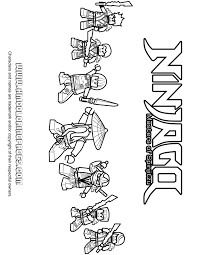 Free Printable Lego Ninjago Coloring Pages H M Coloring Pages