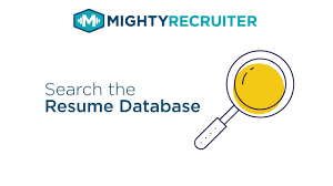 How To Search The Resume Database On Mightyrecruiter Youtube