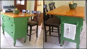 diy kitchen island from dresser. DIY Dresser Kitchen Main Image Diy Island From