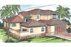 mediterranean house plan coronado 11 029 front elevation