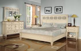 White Washed Bedroom Furniture White Wood High Back Bed Frames White ...
