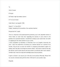 Cover Letter Teacher Templates For Position Template Letters Jobs