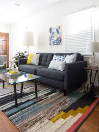 Small Narrow Living Room? No Problem! See How One Blogger Worked With Her  Tiny