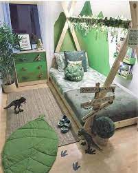 dinosaur bedroom decorar habitacion