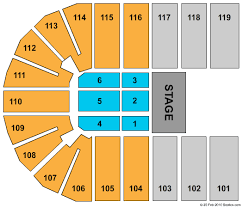 Orleans Arena The Orleans Hotel Seating Chart
