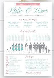 Templates For Wedding Programs 21 Printable Wedding Program Template Ideas Wedding Forward