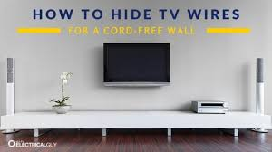 how to hide tv cords and wires ask