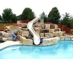 homemade above ground pool slide. Above Ground Pool Water Slides For Pools Homemade Slide .