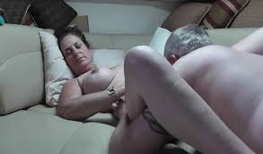 Fun wife creampie and blowjob