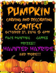 pumpkin carving contest flyer customizable design templates for pumpkin carving event postermywall