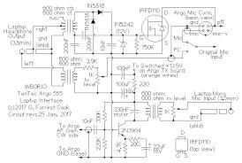 ten tec argo interface to a laptop ts 430s audio interface schematic
