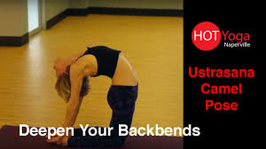 deepen your backbends learn ustrasana camel pose
